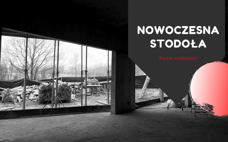 baner Nowoczesna Stodoła